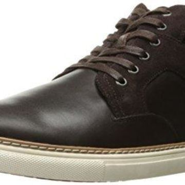 English Laundry Men's Pinner Fashion Sneaker, Brown, 13 M US