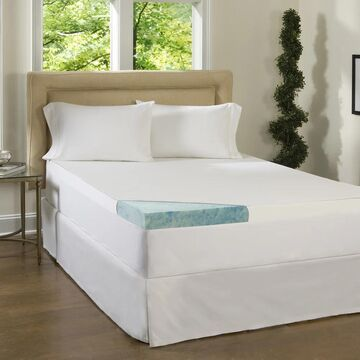 Comforpedic Loft from Beautyrest 3-inch Supreme Gel Memory Foam Mattress Topper with Cover (Twin)