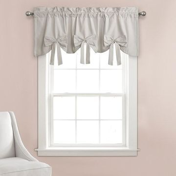 Lush Decor Melody Bow Valance