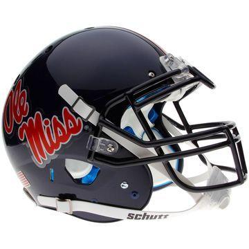Ole Miss Rebels Schutt Full Size Authentic Helmet