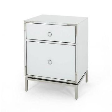 Bansollo End Table - Mirrored - Christopher Knight Home