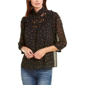 Kensie Chiffon Shirt