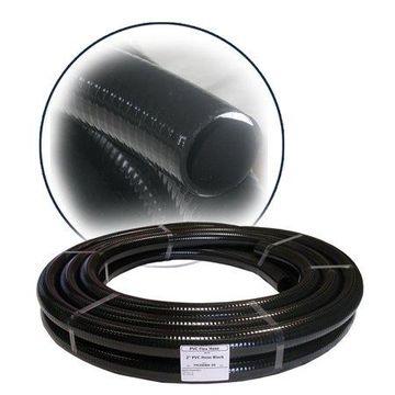 Alpine Black PVC Hose Tube, 0.75 Inch Diameter, 100 Ft Long