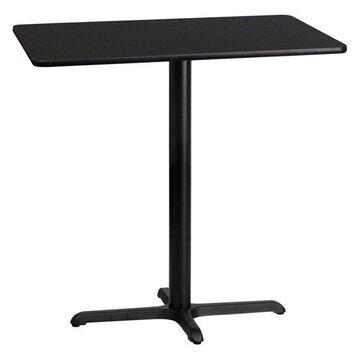 Flash Furniture Rectangular Black Table Top