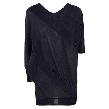 Antonio Marras V-neck Ribbed Mid-length Sweater