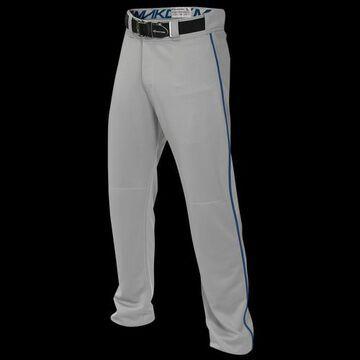 Easton Boys Easton Mako 2 Piped Baseball Pants - Boys' Grade School Grey/Royal Size S
