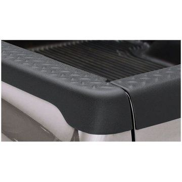 Bushwacker 97-04 Dodge Dakota Fleetside Bed Rail Caps 78.0in Bed - Black