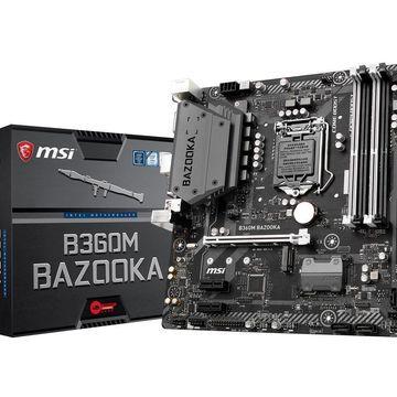 MSI Arsenal Gaming Intel Coffee Lake B360 LGA 1151 DDR4 Onboard Graphics Micro ATX Motherboard (B360M Bazooka)