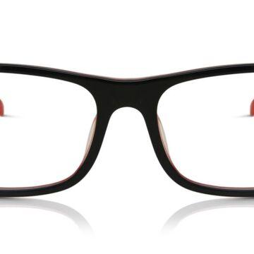 Tag Heuer TH0551 002 Men's Glasses Black Size 57 - Free Lenses - HSA/FSA Insurance - Blue Light Block Available