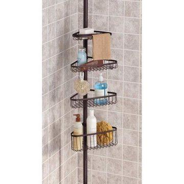 InterDesign York Tension Shower Caddy 2, Bronze