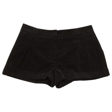 Vanessa Bruno Black Cotton Shorts