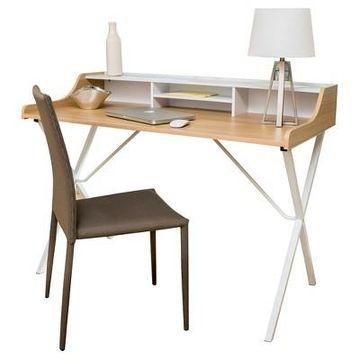 Aalto Computer Desk - White - Christopher Knight Home