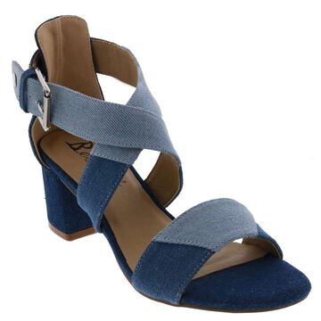 Bellini Womens Bellini Fabric Open Toe Casual Ankle