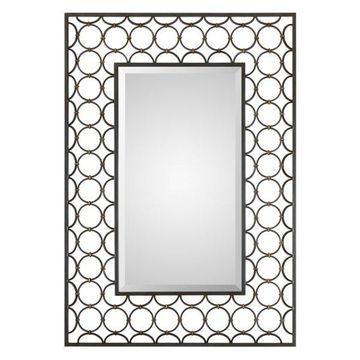 Uttermost 09347 Uttermost Leveen Iron Rings Mirror