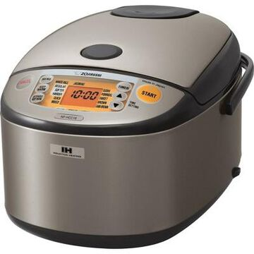 Zojirushi 10 Cup Induction Heating Rice Cooker & Warmer Stainless Dark Gray