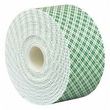 3M 4026 3M 4026 Double Coated Foam Tape 3'' x 6'', White, 25PK