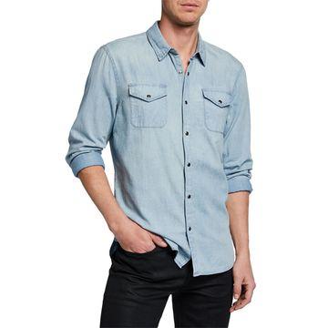 Men's Marshall Chest-Pockets Sport Shirt