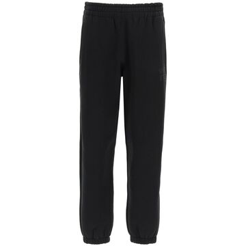 T by Alexander Wang Jogging Trousers With Embossed Logo