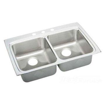 Elkay LRAD3322502 Double Bowl Sink