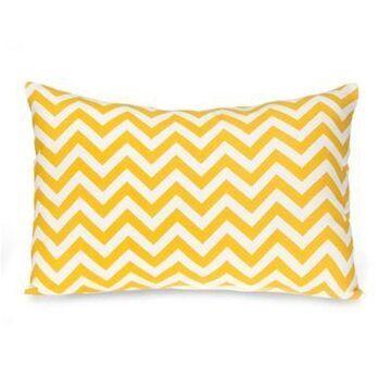Glenna Jean Swizzle Small Pillow Sham in Yellow/White
