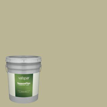 Valspar SeasonFlex Satin Oakmoss 6005-3c Exterior Paint (5-Gallon)