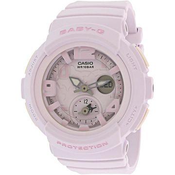 Casio Women's Baby-G BGA190BC-4B Pink Resin Japanese Quartz Sport Watch