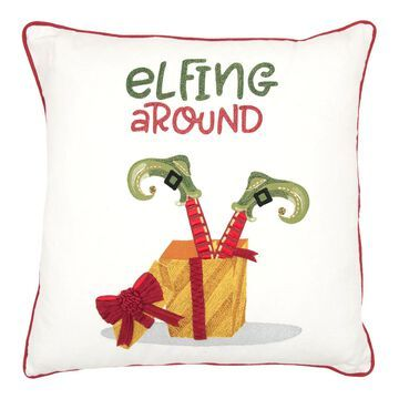Rizzy Home Elfing Throw Pillow