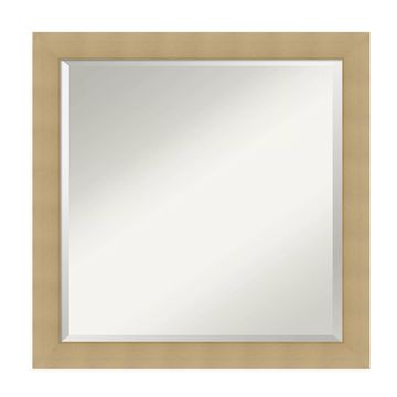 Amanti Art& inches Wall Mirror in Natural