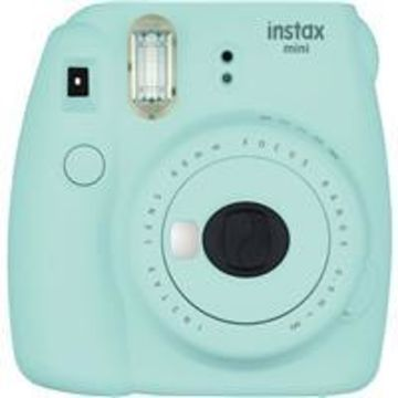 Fujifilm Instax Mini 9 Camera, Ice Blue
