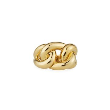 18k Gold Double-Knot Ring, Size 6