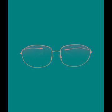 Oversize Gradient Sunglasses Black