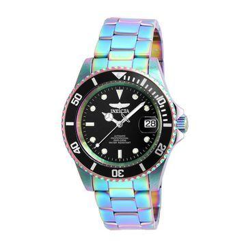 Men's Invicta Pro Diver Automatic Iridescent-Tone Watch with Black Dial (Model: 26600)