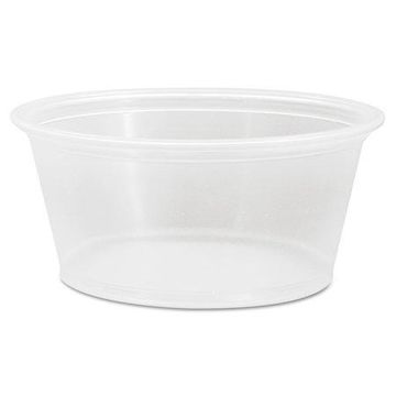 Dart Conex Complements Clear 3.25 oz. Portion/Medicine Cups, 2500 count