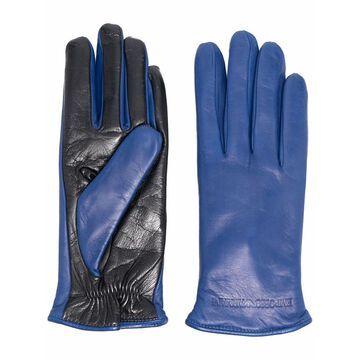 Emporio Armani Gloves Blue