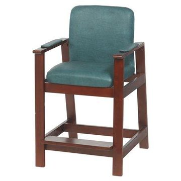 Drive Medical Wooden High Hip Chair