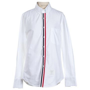 Thom Browne White Cotton Tops