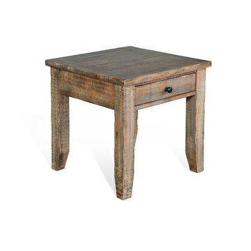 Drift Wood End Table