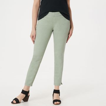 NYDJ Alina Pull-on Ankle Jeans -Desert Willow