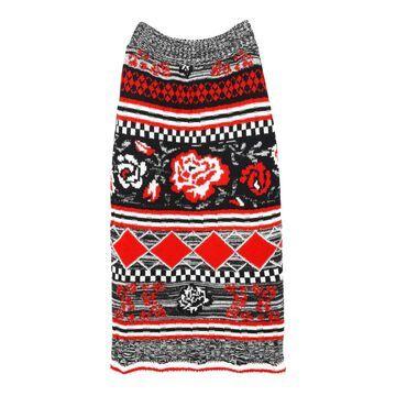Msgm Multicolour Wool Skirts