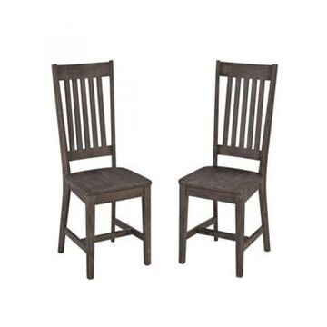 Home Styles Concrete Chic Dining Chair, Pair