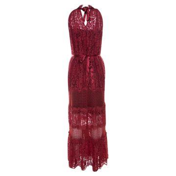 Temperley London Red Viscose Dresses