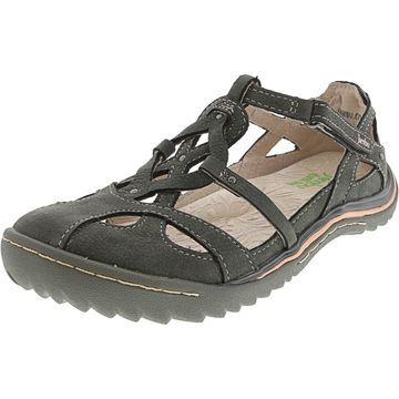 Jambu Women's Spain Ankle-High Leather Sandal