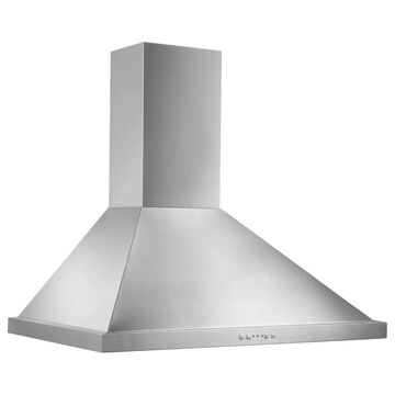 Broan 36-inch Stainless Steel Traditional European Chimney Wall Hood - Silver (36