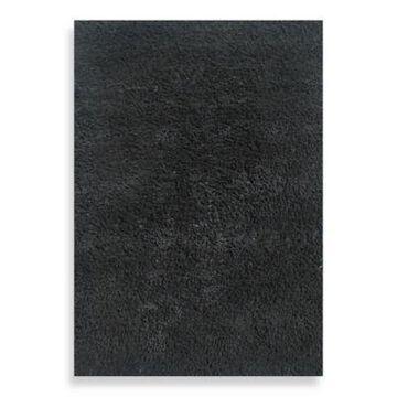 Fun Rugs 4-Foot 3-Inch X 6-Foot 6-Inch Shag Area Rug In Black
