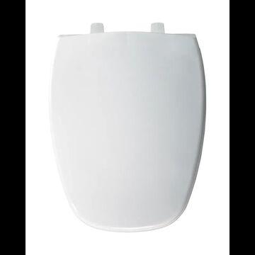 Bemis 124-0205 Elongated Plastic Toilet Seat White Accessory Toilet Seat Elongated
