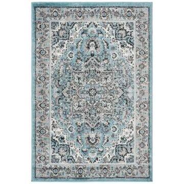 Safavieh Skyler Blue and Ivory 4' x 6' Area Rug