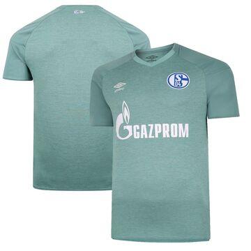 Umbro FC Schalke 04 Green 2020/21 Third Replica Jersey