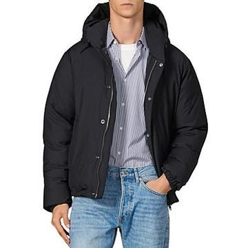 Sandro Hooded Down Puffer Jacket