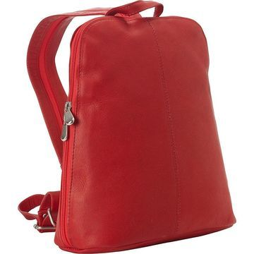 LeDonne Leather Women's Leather Backpack with Adjustable Straps and Tablet Pocket