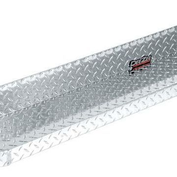 2014 Ram 3500 Dee Zee Brite-Tread Running Boards in Chrome, Cab Section